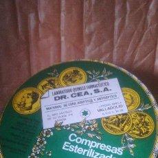 Cajas y cajitas metálicas: CAJA GASAS LLENA DR CEA, . Lote 116980287