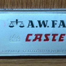 Cajas y cajitas metálicas: CAJA METÁLICA DE LÁPICES A.W. FABER CASTELL (STEIN BEI NÜRNBERG - GERMANY). Lote 117026799