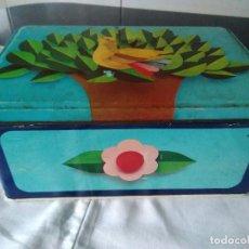 Cajas y cajitas metálicas: 81-ANTIGUA LATA METALICA DE COLACAO. Lote 117075019
