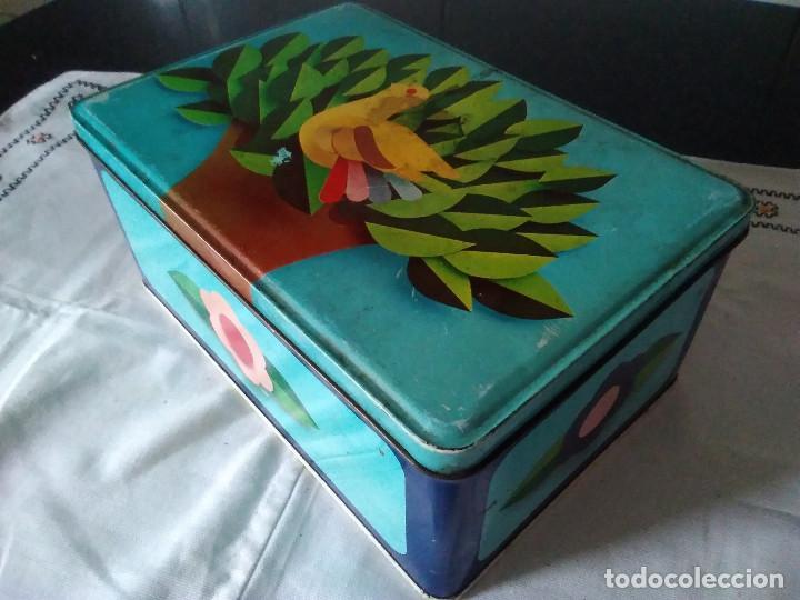 Cajas y cajitas metálicas: 81-ANTIGUA LATA METALICA DE COLACAO - Foto 2 - 117075019