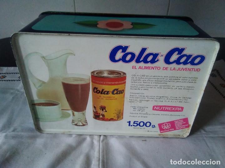 Cajas y cajitas metálicas: 81-ANTIGUA LATA METALICA DE COLACAO - Foto 3 - 117075019