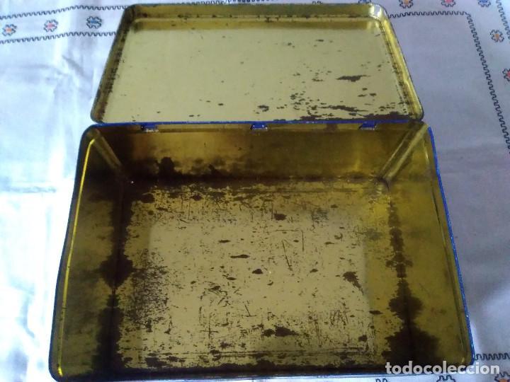Cajas y cajitas metálicas: 81-ANTIGUA LATA METALICA DE COLACAO - Foto 5 - 117075019