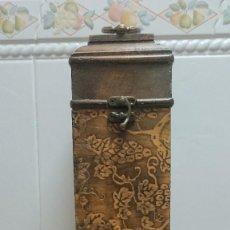 Blechdosen und Kisten - CAJA DE MADERA PARA GUARDAR BOTELLA - 117223747