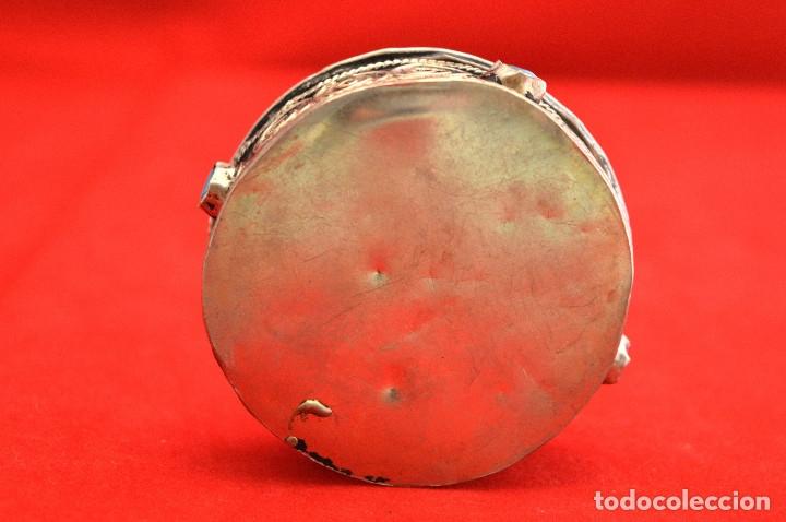 Cajas y cajitas metálicas: ANTIGUA CAJITA METÁLICA REPUJADA - Foto 4 - 55304598