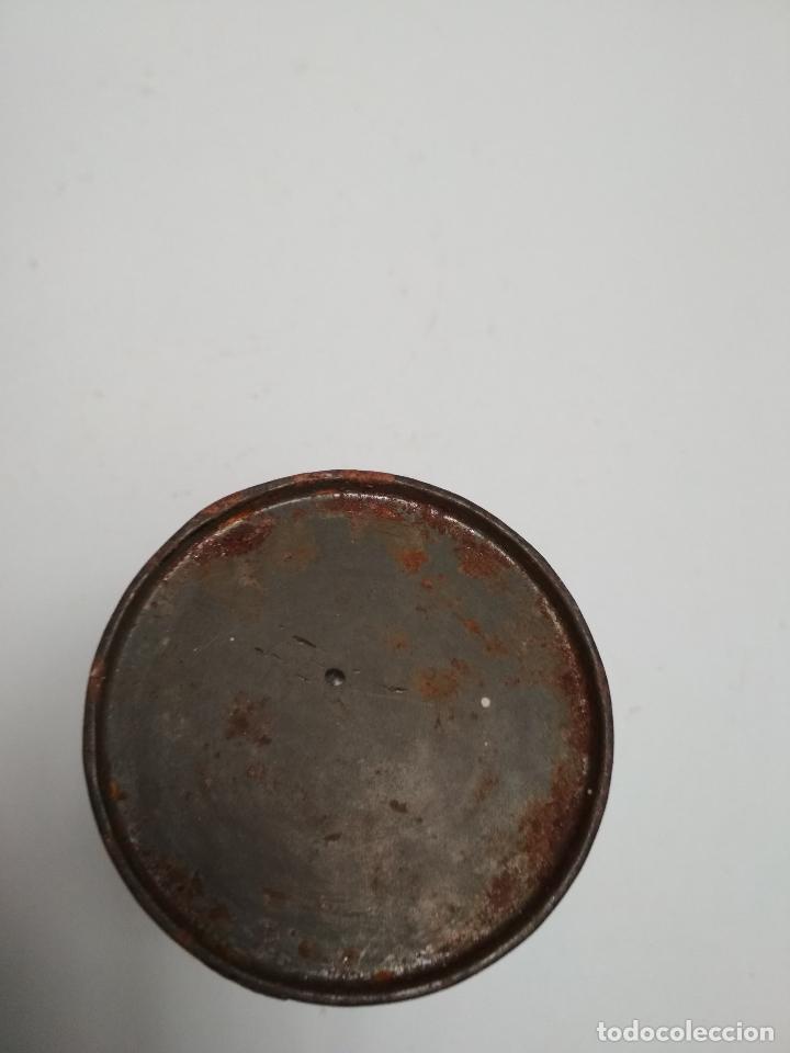 Cajas y cajitas metálicas: LATA BOTE TINTE LACCARIN. Años 50/60 - Foto 3 - 117354855