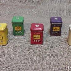 Cajas y cajitas metálicas: COLECCIÓN CAJAS DE TÉ . ITALIA 1978. Lote 117407075