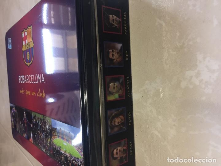 Cajas y cajitas metálicas  CAJA METÁLICA FC BARCELONA BARÇA. GALLETAS BIRBA  HOJALATA - Foto 49b2e7e6cf2