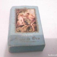 Cajas y cajitas metálicas: ANTIGUA PASTILLITA DE JABÓN SIGLO DE ORO OBSEQUIO DE DROGUERIA -PERFUMERIA - DYAMO . MADRID . Lote 118055463