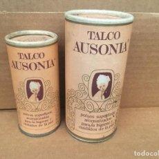Boîtes et petites boîtes métalliques: ANTIGUO BOTE EMBASE DE POLVOS DE TALCO AUSONIA SIN ABRIR. Lote 118404303