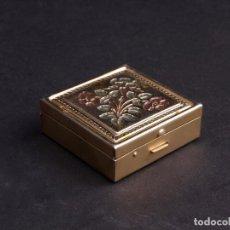 Cajas y cajitas metálicas: CAJITA PASTILLERO METÁLICA . Lote 118987839
