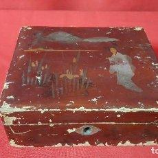 Cajas y cajitas metálicas: CAJA ORIENTAL. PARA RESTAURAR.. Lote 118998559