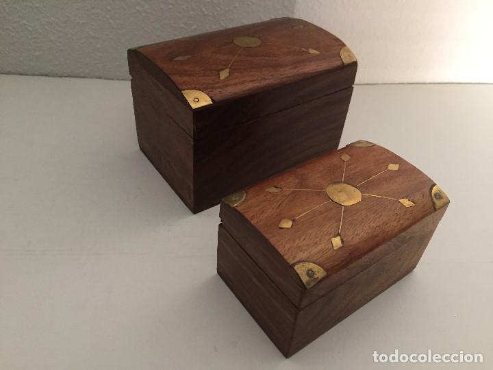 Cajas y cajitas metálicas: JUEGO 2 BAULES - Foto 2 - 119187199