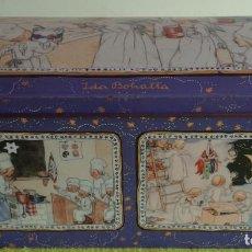 Cajas y cajitas metálicas: CAJA LATA BAÚL LITOGRAFIADA - OTTO SCHMIDT MADE IN GERMANY. Lote 119747791