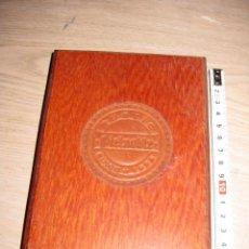 Cajas y cajitas metálicas: CAJA DE MADERA ** PIEL NOBLE **. Lote 120171667