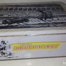 Cajas y cajitas metálicas: LA LIDIA-FABRICA DE DULCE Y JALEA DE MEBRILLO-28X20 CM. Lote 120479067
