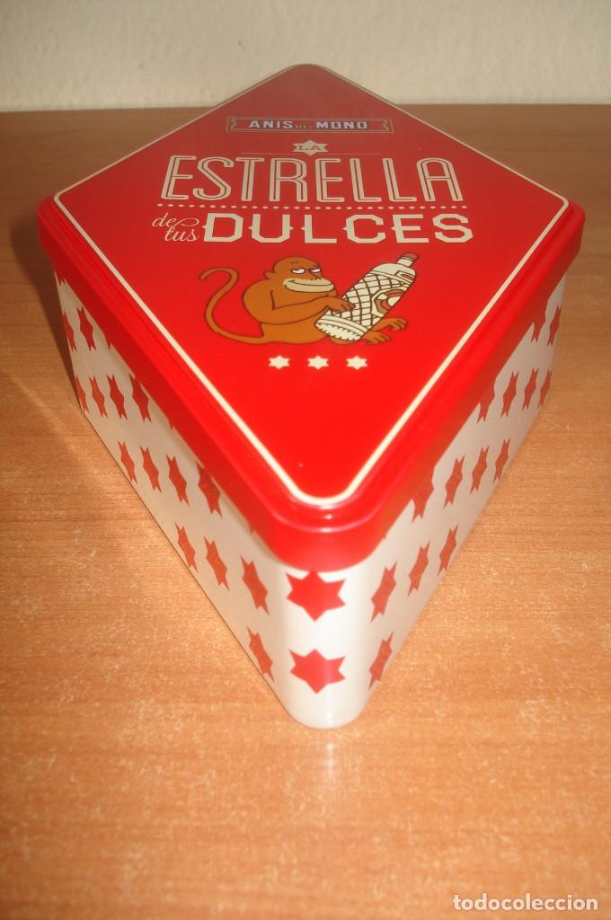 Cajas y cajitas metálicas: Caja metálica de ANIS DEL MONO. - Foto 2 - 120723675