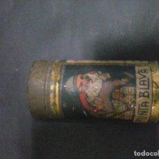Cajas y cajitas metálicas: LATA DE INSECTICIDA AÑOS 30-40. Lote 120749815