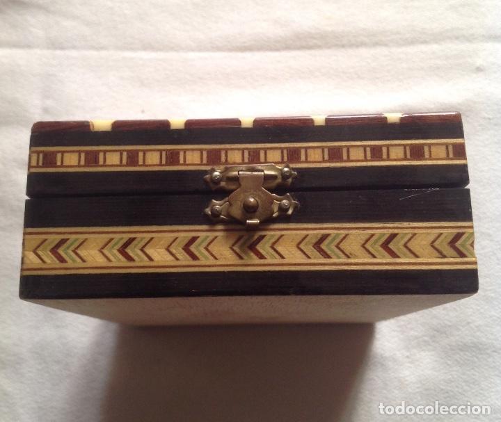 Cajas y cajitas metálicas: ANTIGUA CAJA MADERA PARA GUARDAR CARTAS - Foto 3 - 121377187