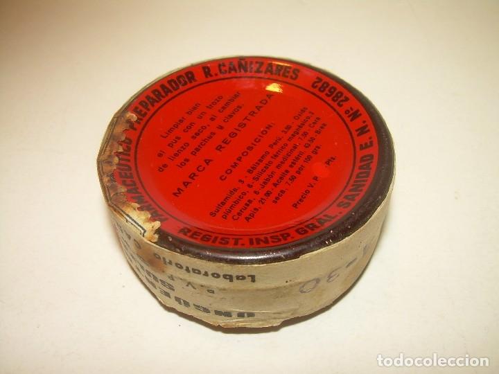 Cajas y cajitas metálicas: CAJITA METALICA.....UNGUENTO CAÑIZARES....PRECINTADA.SIN HABER SIDO USADA. - Foto 3 - 121721191