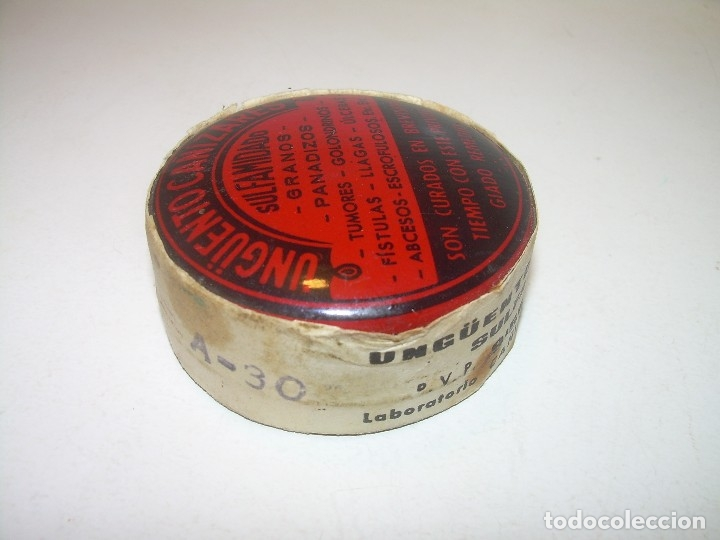 Cajas y cajitas metálicas: CAJITA METALICA.....UNGUENTO CAÑIZARES....PRECINTADA.SIN HABER SIDO USADA. - Foto 5 - 121721191