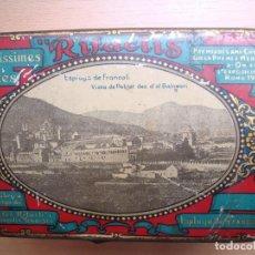 Cajas y cajitas metálicas: CAJA DE HOJALATA LITOGRAFIADA DE GALLETAS RIFACLIS. Lote 122888427