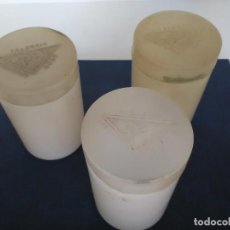 Cajas y cajitas metálicas: LOTE DE 3 BOTES DE LABORATORIOS MABO S.A VALENCIA. Lote 123379903