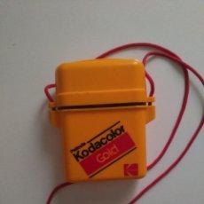 Cajas y cajitas metálicas: ESTUCHE HERMÉTICO KODAK KODACOLOR GOLD. Lote 123476467