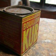 Cajas y cajitas metálicas: CAJA DE KUB. Lote 124189507