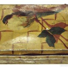 Cajas y cajitas metálicas: ANTIGUA CAJA DE ALMENDRAS MANUEL PASTOR, ALCALÁ DE HENARES.. Lote 124685971