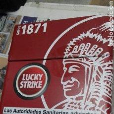 Cajas y cajitas metálicas: CAJA METALICA LUCKY STRIKE. Lote 126634248