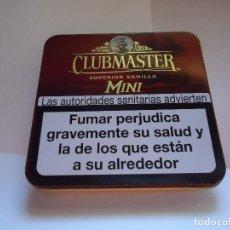 Cajas y cajitas metálicas: CAJA METALICA, PURITOS CLUBMASTER. Lote 127442899