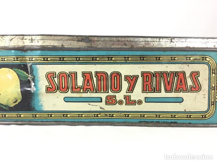 Cajas y cajitas metálicas: Solano y Rivas - Puente Genil - Dulce y Jalea de Membrillo - Foto 5 - 127860235