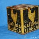 Cajas y cajitas metálicas: (BF9 CAJA LITOGRAFICA ANTIGUA CALDOS EN CUBITOS GALLINA BLANCA , INDUSTRIA METAGRAFICA, BARCELONA . Lote 128421675