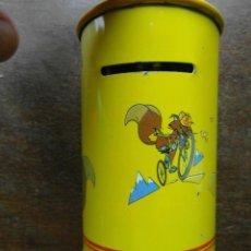 Cajas y cajitas metálicas: HUCHA METALICA DE CAJA POSTAL. CORREOS. Lote 128480171