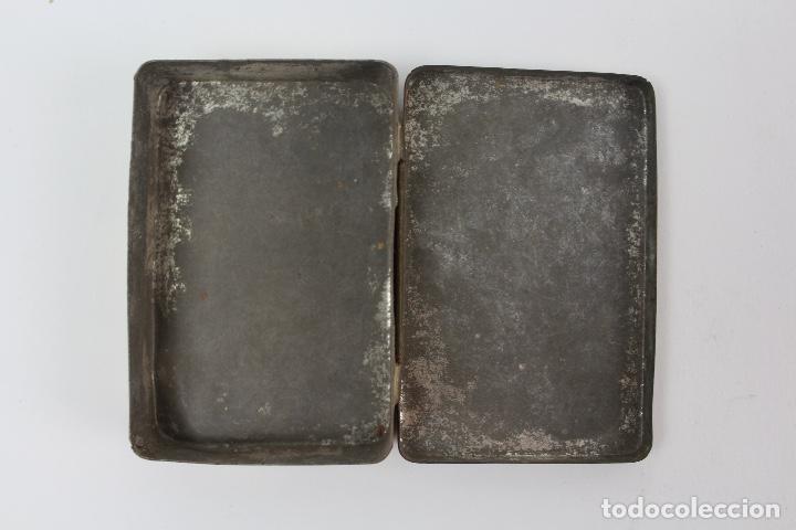Cajas y cajitas metálicas: CAJA DE METAL LITOGRAFIADO .MARCA CAPSTAN NAVY CUT CIGARETTES. - Foto 3 - 128541395