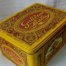 Cajas y cajitas metálicas: LATA GALLETAS BIRBA. Lote 128711587