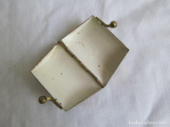 Cajas y cajitas metálicas: Cajita metálica pastillero con forma de bolso - Foto 6 - 129972447