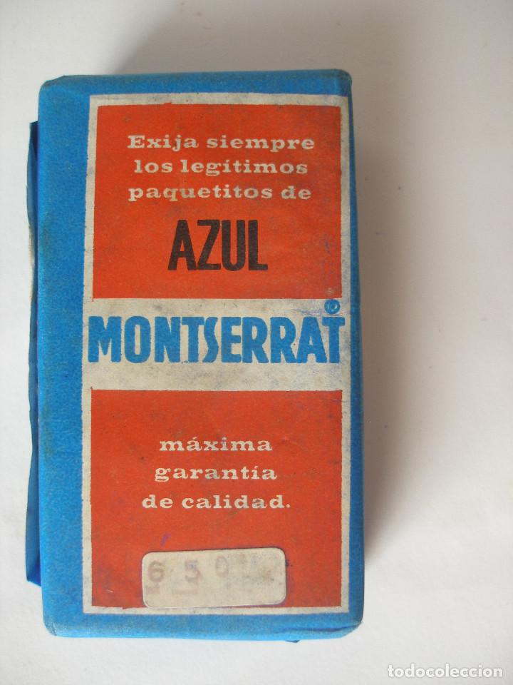 ed3a99bec904d Cajas y cajitas metálicas  Azul Montserrat para la ropa blanca Nubiola años  60 - 70