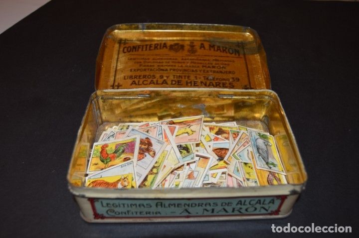 Cajas y cajitas metálicas: CAJA AÑOS 20 - CONFITERIA - A. MARON - ALCALA DE HENARES - Foto 10 - 130599010
