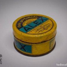 Cajas y cajitas metálicas: CAJA CERA PERFUMADA ALEX. Lote 131134700