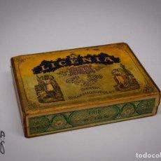 Cajas y cajitas metálicas: CAJA TABACO LICENIA. Lote 131135016