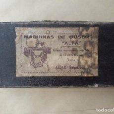 Cajas y cajitas metálicas: MAQUINAS DE COSER ALFA - CAJA - EIBAR. MUY DIFICIL CONSEGUIR. Lote 131411090