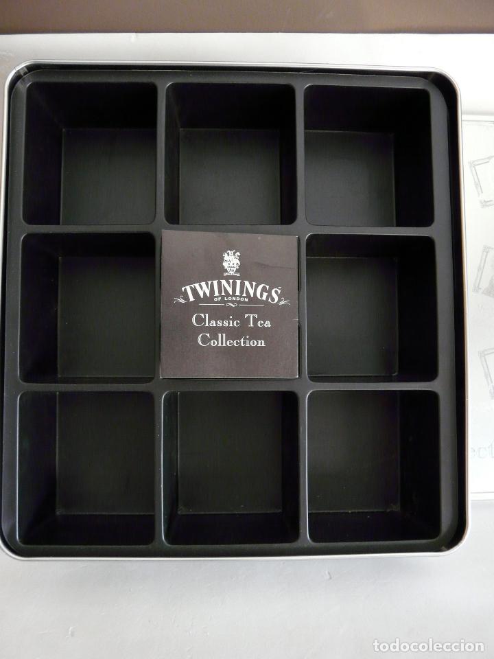 Cajas y cajitas metálicas: CAJA DE TÉ TWININGS - CLASIC COLLECTION - VACÍA - EDICIÓN COLECCIONISTA - Foto 3 - 132361990