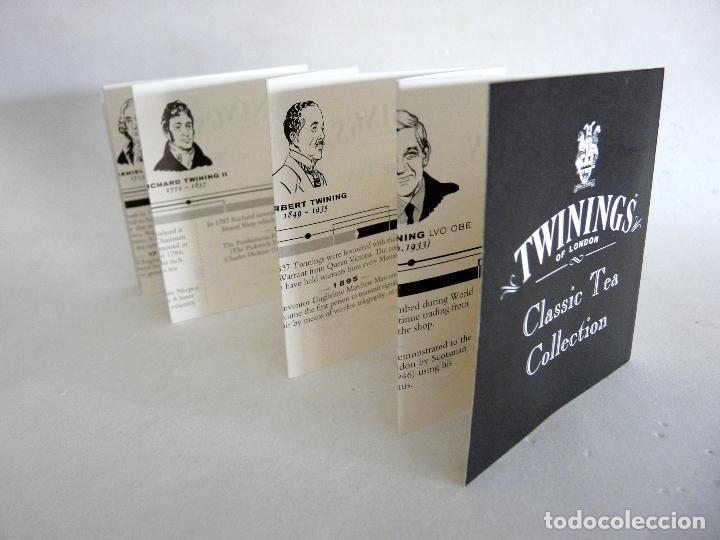 Cajas y cajitas metálicas: CAJA DE TÉ TWININGS - CLASIC COLLECTION - VACÍA - EDICIÓN COLECCIONISTA - Foto 5 - 132361990