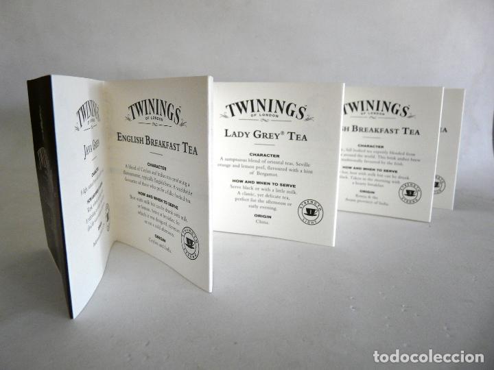 Cajas y cajitas metálicas: CAJA DE TÉ TWININGS - CLASIC COLLECTION - VACÍA - EDICIÓN COLECCIONISTA - Foto 6 - 132361990