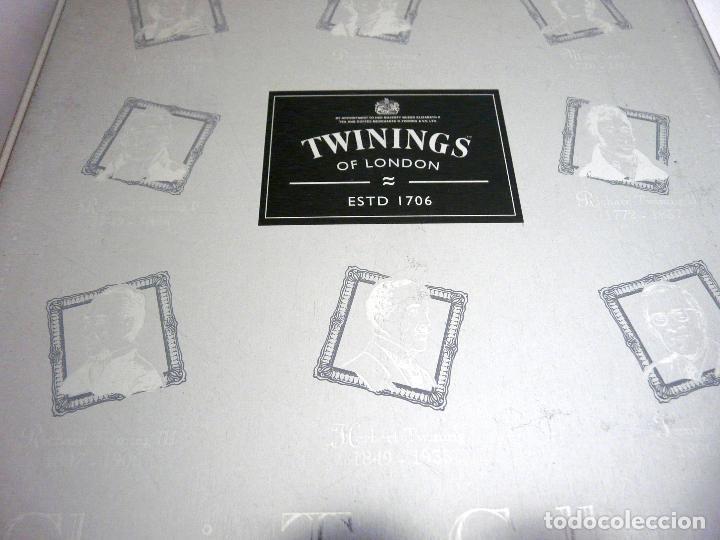 Cajas y cajitas metálicas: CAJA DE TÉ TWININGS - CLASIC COLLECTION - VACÍA - EDICIÓN COLECCIONISTA - Foto 9 - 132361990