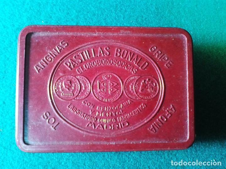 CAJITA DE BAQUELITA PASTILLAS BONALD (Coleccionismo - Cajas y Cajitas Metálicas)