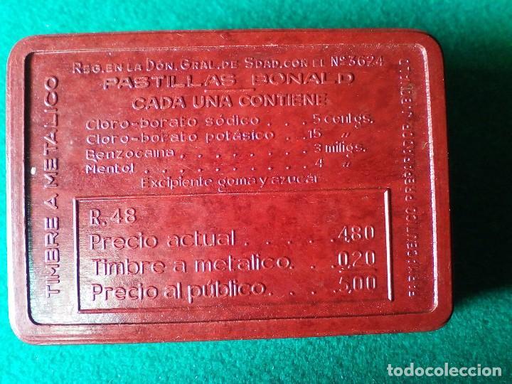 Cajas y cajitas metálicas: CAJITA DE BAQUELITA PASTILLAS BONALD - Foto 2 - 133053310