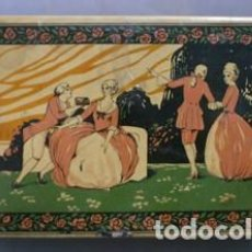 Cajas y cajitas metálicas: CAJA METALICA ALMENDRAS DE ALCALA SALINAS BRS - CAJAMETALICA-393. Lote 133306626