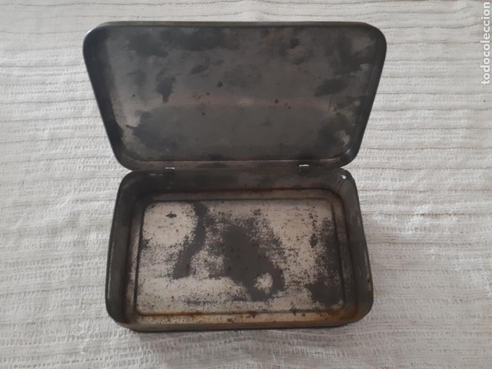 Cajas y cajitas metálicas: Caja metal Pastillas Café y Leche Viuda de Solano - Foto 3 - 133408875
